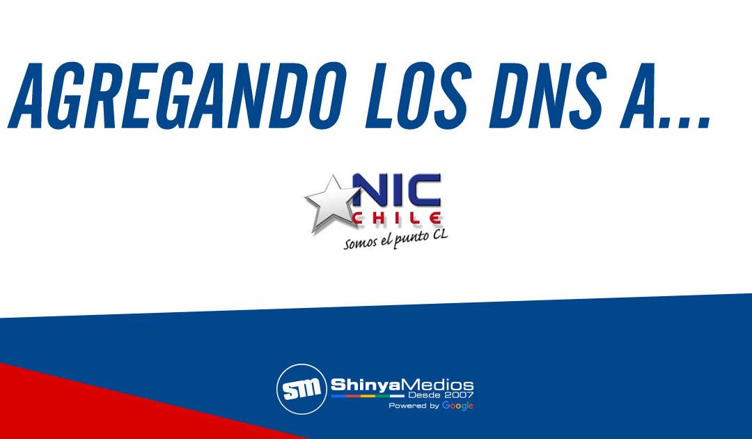 Agregando los DNS del Hosting a NIC Chile